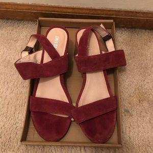 ModCloth suede sandals size 8
